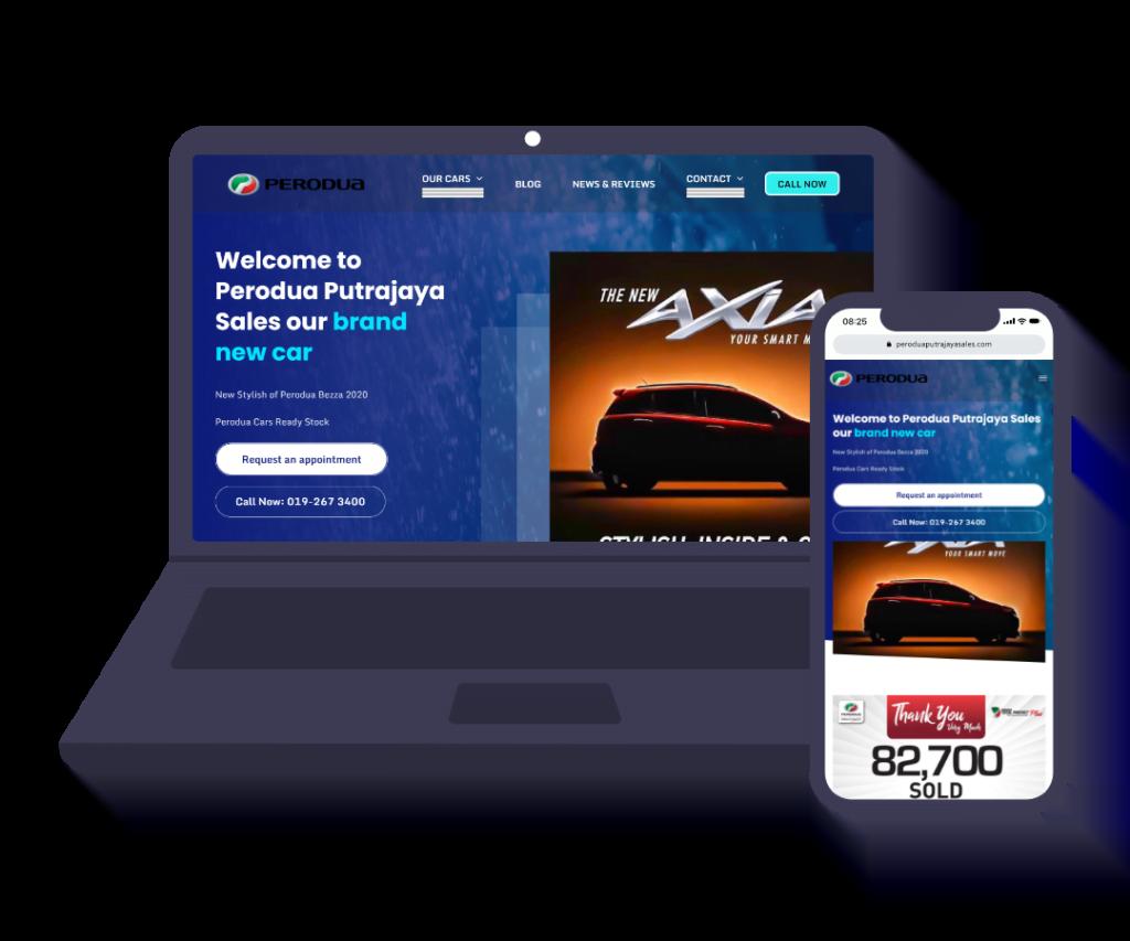 Perodua Putrajaya Sales